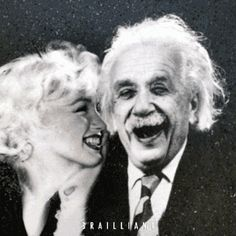 "$75.00 This #artwork was inspired by an autographed photo of the physicist found among #Monroe's possessions. Perhaps #AlbertEinstein theorized the #MarilynMonroe phenomenon best: ""The gift of fantasy has meant more to me than my talent for absorbing positive knowledge."" Discover Old Hollywood's New Attitude at brailliant.com. Shop #BrailliantArt #DiamondDust #PopArt #ContemporaryArt #UrbanArt #StreetArt #Marilyn #Einstein #Brailliant #Art"