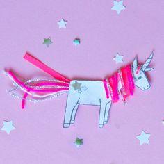 Einhorn-DIY; einfach dieses süße Einhorn selber basteln: mit unserer Vorlage als Free Printable zum kostenlosen Download geht das ganz schnell - ohne selber zeichnen: einfach Malvorlage ausdrucken, mit Wolle & Garn verzieren. Als Figur, als Bilder oder Einladung. Perfekt für die Einhorn-Party oder zum Kindergeburstag für Mädchen - mehr auf FAMILICIOUS.de Cute Unicorn DIY for girls unicorn-party!