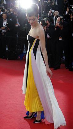 Marion Cotillard Cannes Cannes 2013: Marion Cotillard En Christian Dior Croisière 2014