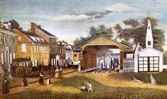 Germantown, PA - first home of my Dierdorff ancestors after arrival in America.