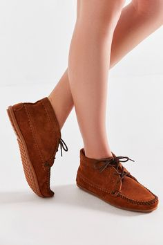 b1e52ac84e6 Minnetonka Suede Ankle Boot. Suede Ankle BootsFootwearUrban OutfittersShoes ZapatosShoe