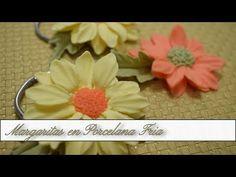 Floral, Flowers, Youtube, Cold, Napkin Holders, Margaritas, Cold Porcelain, Royal Icing Flowers, Flower