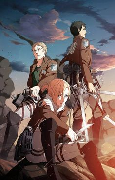 Shingeki no Kyojin / Attack on Titan - Anime