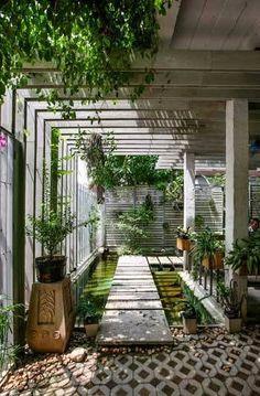 👍 stunning corner pergola design models of 19 Home Garden Design, Garden Landscape Design, Patio Design, Home And Garden, Exterior Design, Garden Bed, Balcony Garden, House Design, Backyard Patio