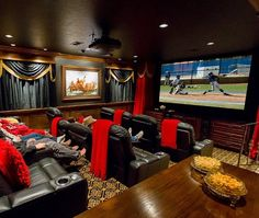 Transforming a Billiards Room into 12-Seat Home Theater - Slideshow from CE Pro