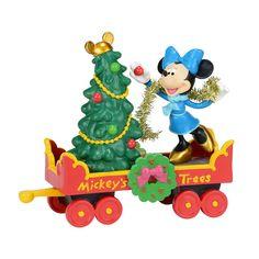 Mickey's Village Mickey's Holiday Tree Car | Department 56 Corner