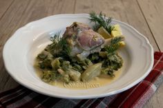 Nana's favorite Greek cooking recipes with photos and directions step by step. Greek Cooking, Greek Dishes, My Cookbook, Greek Recipes, Food Photo, Food For Thought, Asparagus, Food And Drink, Pork