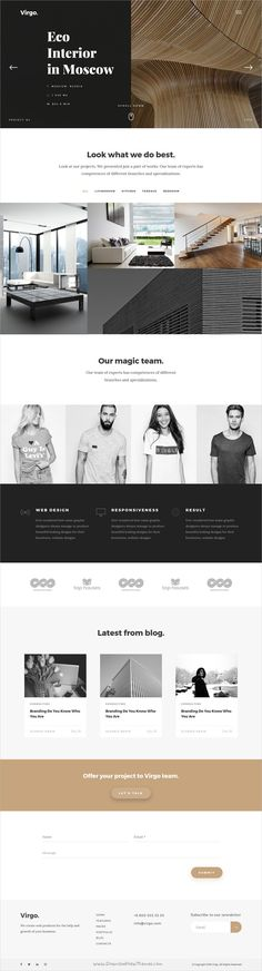 Virgo is beautiful and modern design responsive #HTML bootstrap template for #interior #office stunning website with 12+ multipurpose niche homepage layouts download now➩ https://themeforest.net/item/virgo-multipurpose-html-template/19321510?ref=Datasata