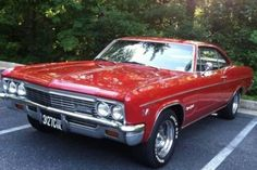 1966 Chevy Impala, 66 Impala, Chevrolet Chevelle, Chevy Muscle Cars, Sweet Cars, Bel Air, Hot Cars, Corvette, Volkswagen