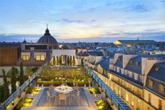 Mandarin Oriental Hotel in Paris, France by Wilmotte and Sybille de Margerie