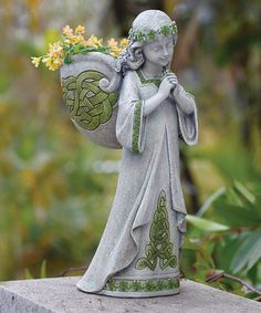 Another great find on #zulily! Irish Angel Planter #zulilyfinds