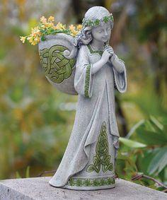 Another great find on #zulily! Irish Angel Planter #zulilyfinds