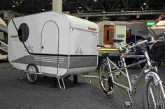 Endlich ein Wohnwagen für Biker - Fahrradtest.de - Das Online-Fahrradmagazin