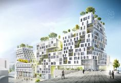Gallery of SeARCH Wins Housing Block Competition in Paris - 3