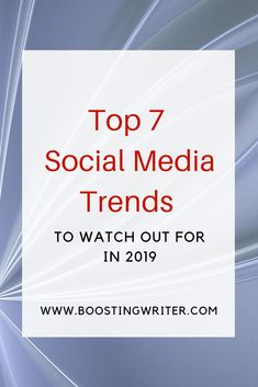 Top 7 Social Media Trends To Watch Out For In 2019 - Influencer Marketing - Ideas of Sell Your House Fast - Want to keep your game on trend in Well be seeing the continuing rise of and marketing as well as ephemeral content user-generated Social Media Trends, Social Media Branding, Social Media Content, Social Media Marketing, Digital Marketing, Marketing Quotes, Marketing Ideas, Content Marketing, Affiliate Marketing