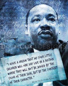 16x20 Martin Luther King Jr. Poster by ShopAndiAndrea on Etsy, $20.00