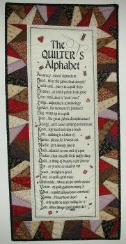 Quilters Alphabet