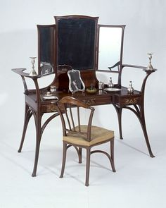 Image result for art nouveau cabinet