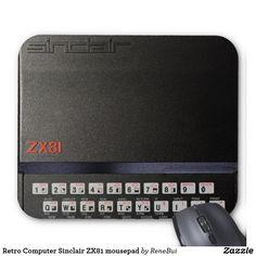 Retro Computer Sinclair ZX81 mousepad