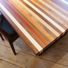 STRIPE Dining Table【outlet】 ストライプ ダイニングテーブル【展示現品】 - サンコーのテーブル通販   リグナ東京