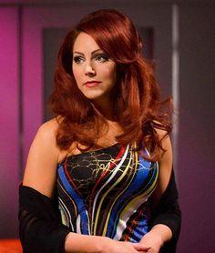 Dr. Elise MacKennah (Michele Specht) - Star Trek Continues Star Trek Meme, Star Trek Crew, Star Trek 1, Star Trek Ships, Star Trek Continues, Star Trek Reboot, Star Trek Cosplay, Star Trek Characters, Star Trek Beyond