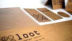 Loot Identity Project by Sandy Yun, via Behance