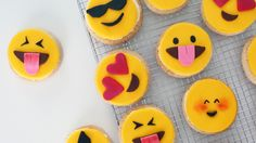 You'll Be All Heart Eyes Over These Emoji Cookies: Using words to communicate your feelings is so 2005.