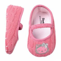 Girls Baby Kids Infant Toddlers Cute Hello Kitty First Walking shoes Shower gift