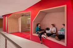 """""""By breaking down the borders of a traditional office and desk ownership, users can leverage the diversity of collaborative activity within their neighbourhoods,"""" the firm said."""