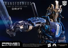 Transformers Drift Polystone Statue by Prime 1 Studio | Sideshow Collectibles