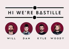 Hi, we're Bastille
