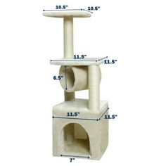 Deluxe Cat Tree 36' Condo Furniture Scratching Post Kitten Pet Play Toy House >>> You can find out more details at the link of the image. (This is an affiliate link) #CatTree