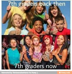 Image result for kids now vs kids back then
