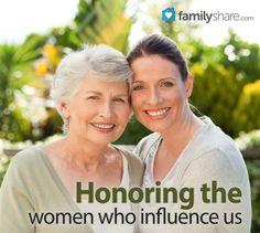 FamilyShare.com | Honoring the women who influence us