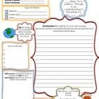 Help your students learn what is going on in the scientific world around them! This document is the Earth science current event from my Science Cur...