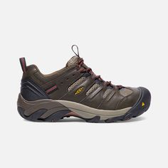 Made with durable, waterproof leather and featuring a moisture-wicking  lining, these steel toe shoes will keep you cool and dry.