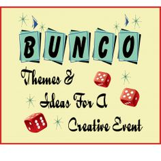 Fun Bunco Themes and ideas