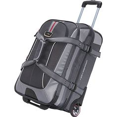 Buy the High Sierra AT6 Carry On Expandable Wheeled Duffel with Backpack  Straps at eBags - 64ff1e18a2b48