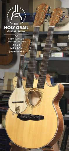 Exhibitor at The Holy Grail Guitar Show 2014: Andy Manson, Andy Manson Custom Guitars, Portugal  http://www.andymanson.com https://www.facebook.com/AndyMansonCustomGuitars http://holygrailguitarshow.com