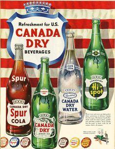 Canada Dry Advertisement