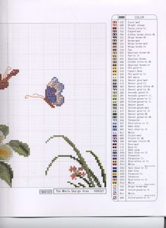ru / Photo # 4 - 01 - the Ka Butterfly Cross Stitch, Cross Stitch Bird, Counted Cross Stitch Patterns, Cross Stitch Cushion, Whimsical, Bullet Journal, Birds, Color, Cushions