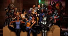 Models extracted/converted by: MoogleOutFitters, ShaunsArtHouse, SonYume, Just-Jasper, Goha (tombrai. A Little Bit Different Mass Effect Characters, Mass Effect Art, Mass Effect Universe, Star Force, Shadowrun, Community Art, Deviantart, Collection, Dragon Age