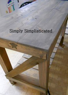 Farm Table - Great for kitchens!