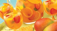 """Just Peachy"" White Wine Sangria Recipe"