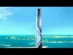 An 80 story rotating building planned for Dubai (Moscow and Paris).  I would really need to study the feasibility before I purchased the penthouse!