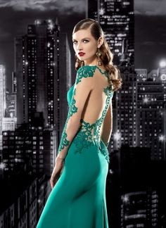 Smart, sexy and sophisticated with this open back button up evening dress #stayclassy #bealady