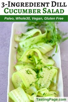 Healthy Salad Recipes, Raw Food Recipes, Healthy Snacks, Cooking Recipes, Vegetarian Salad, Free Recipes, Cucumber Recipes, Cucumber Salad, Clean Eating Salads
