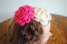 """FREE Hair Accessory Patterns Cre8tion Crochet"""" class=""""pin-it-button"""" count-layout=""""horizontal"""">"""