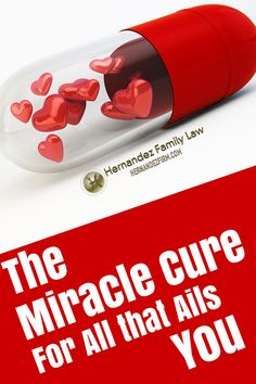 If you are looking for something more in life but you don't know exactly what, there is a miracle cure for all that ails you. Read it here: http://www.hernandezfirm.com/miracle-cure/ #miraclecure #happiness #happylife