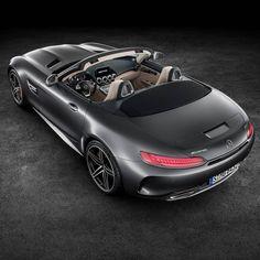 Dream-Car-Alert! This is our brandnew Mercedes-AMG GT C Roadster #MercedesAMG…